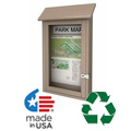 Single Door Message Boards
