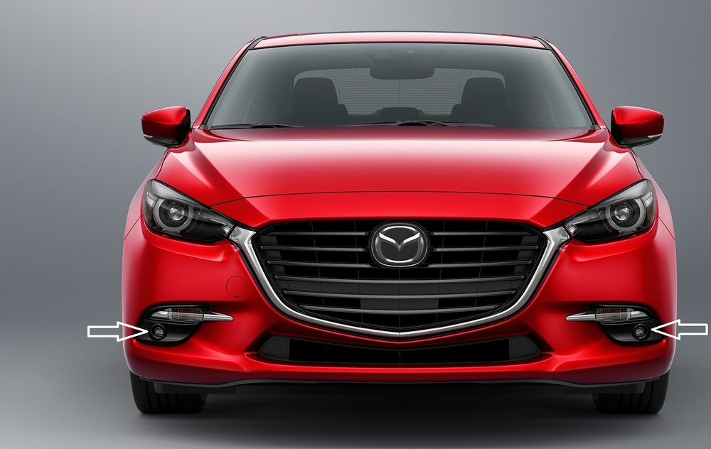 2017 Mazda 3 Led Fog Lamps With Automatic Headlamps