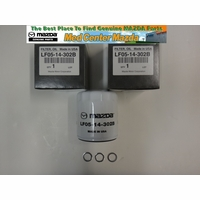Genuine Mazda Oil filter 3 pack w/washers (see drop down box for Models)
