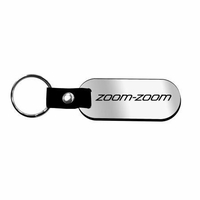 Genuine Polished Zoom-Zoom Key Chain
