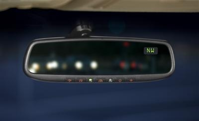 Mazda 6 Auto Dimming Rearview Mirror With Compass And