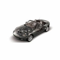 Mazda MX-5 Miata Maintenance Parts 2006 2007 2008