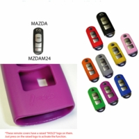 Mazda Remote Key Fob Silicone Rubber Cover (remote not included)