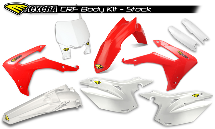2013 - 2015 HONDA CRF POWERFLOW BODY KIT