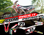 "CUSTOM GRAPHIC KIT ""CARBON"" HONDA CRF450/CRF250"