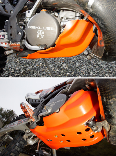 CYCRA FULL COMBAT SKID PLATE - FOR KTM