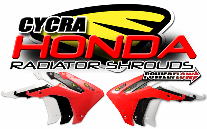POWERFLOW RADIATOR SHROUDS FOR HONDA
