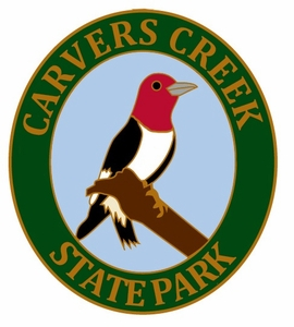 Carvers Creek State Park Woodpecker Lapel Pin