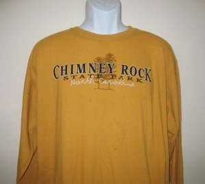 Chimney Rock State Park Adult Long Sleeve T-shirt