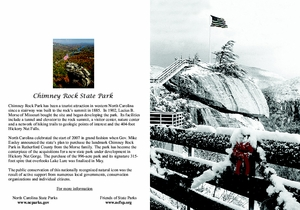 Chimney Rock State Park Note Cards