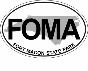 "Fort Macon Bumper Sticker 4""x6"""