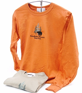 Grandfather Mountain State Park Adult Long Sleeve T-Shirt