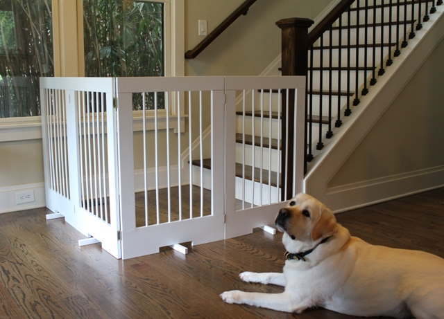 4 Panel Freestanding Pet Gate Model 4pg