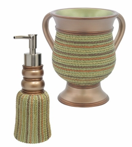 """ROPE"" SOAP CONTAINER WITH WASH CUP"