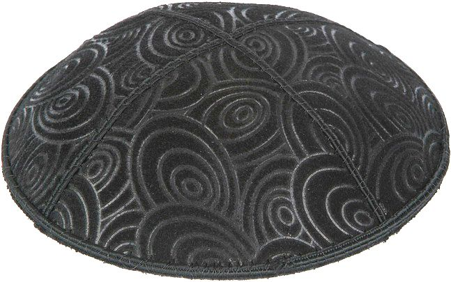 Circles Embossed Kippah
