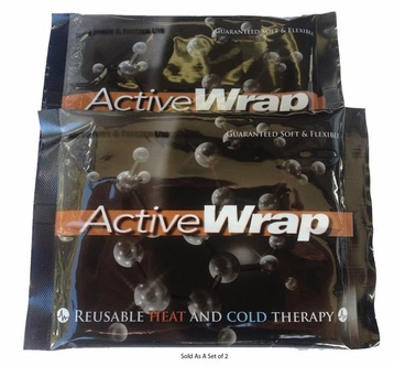 2 Active Wrap Wrist/Hand Wrap Replacement Cold and Hot Inserts