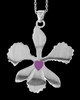 I Love Orchids necklace