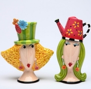 Garden Lady Salt  &Pepper Dollymama By Joey Heiberg