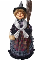 Granny Gertrude Good Witch Collectable Doll - Grey NEW!  in stock