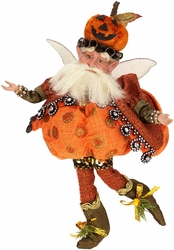 Mark Roberts Halloween Pumpkin Polkadot Fairy, Small