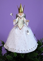 Patience Brewster Krinkles Star Fairy Tree Topper - New 2014