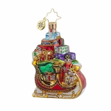 Retired Radko Xmas II - Sleigh Pile Up Gem - 25% Off