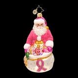 2013 Radko Charity - Breast Cancer Awareness-Think Pink Nick - 30% Off