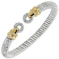 Alwand Vahan Sterling Silver & 14K Yellow Gold Le Cercle Bracelet