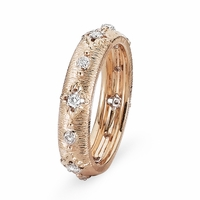 Antique Style Diamond Band