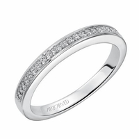 ArtCarved Diamond Band - NADIA