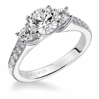 ArtCarved Diamond Engagement Ring - NATALIA