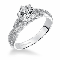 ArtCarved Diamond Engagement Ring - CALLA