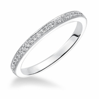 ArtCarved Diamond Wedding Band - Calla