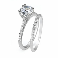 Classic Ladies Diamond Wedding Set