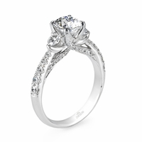 Hemera Graduating Diamond Engagement Ring