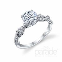 Hemera Infinity Diamond Engagement Ring