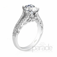 Hemera Vine Diamond Engagement Ring