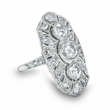 Vivianne - Edwardian Diamond Ring - 2.14ctw
