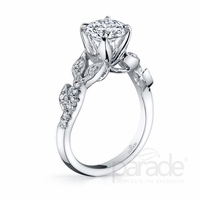 Lyria Diamond Engagement Ring