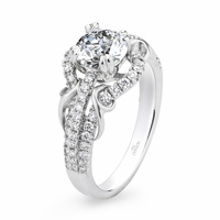 Lyria Vine Diamond Engagement Ring