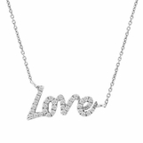 Meira T Diamond Love Necklace