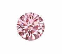Pure Grown Diamond - .44ct Round Fancy Pink