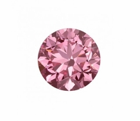 Pure Grown Diamond - .73ct Round Fancy Vivid Pink