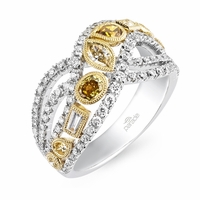 Reverie Fancy Colored Diamond Ring