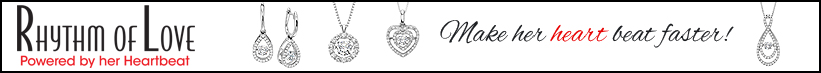 Rhythm of Love Diamond Jewelry Collection