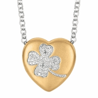 "Sweethearts Diamond ""Clover"" Necklace"