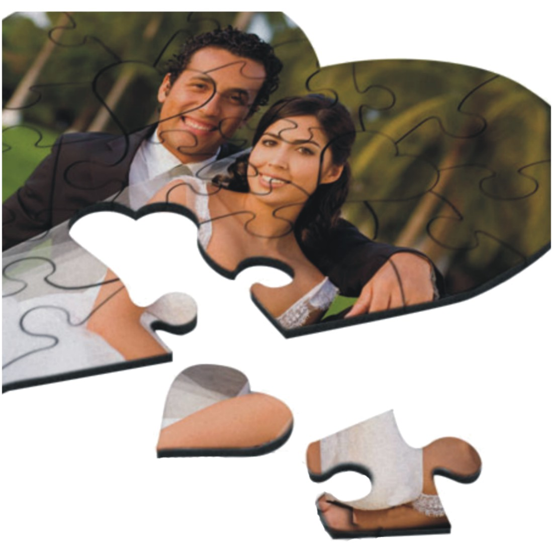 Personalized live laugh love valentine jigsaw puzzle by lafaloons