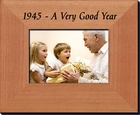 1945 Gift Picture Frame: 70th Birthday Gift