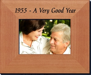 1955 Frame: 60th Birthday Gift - 60th Anniversary Gift