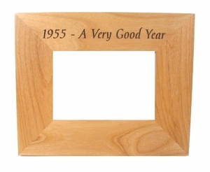 1955 Frame: 58th Birthday Gift - 58th Anniversary Gift